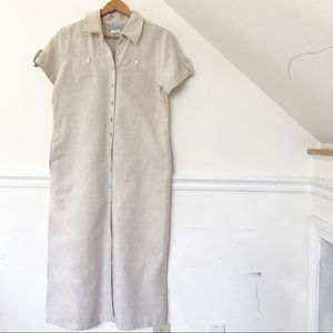 Dresses & Skirts - Vintage linen market dress